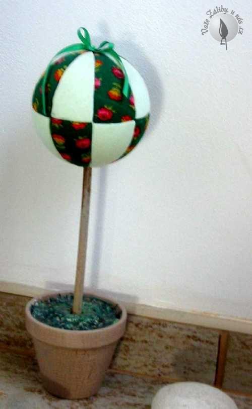 Jednoduchý dekorační prvek