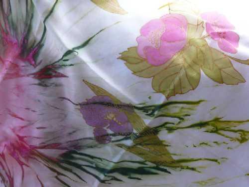 Malované hedvábí