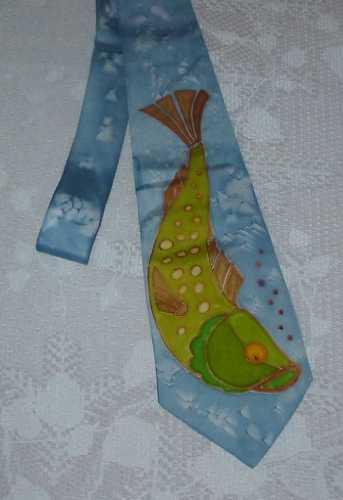 Hedvábáná kravata