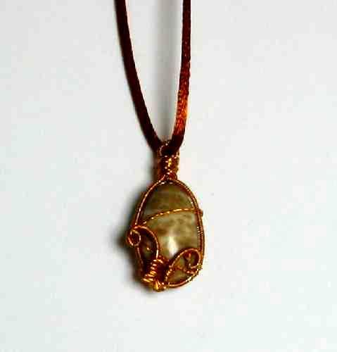 Odrátkovaný kamínek z moře