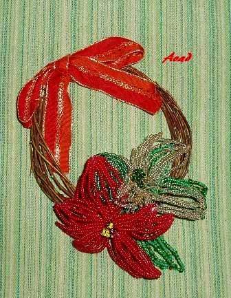 Vánoční hvězda červená