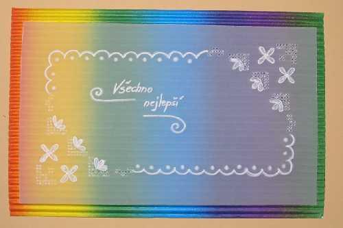 Přáníčko - kartička